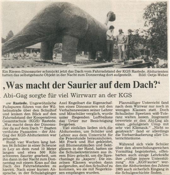 NWZ vom Juni 1985