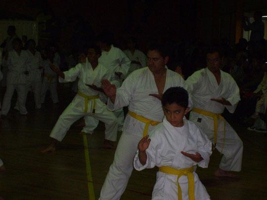 Eduardo Joshoro y Roman Hurtado en seminario Master Teruyuki Okazaki 2009