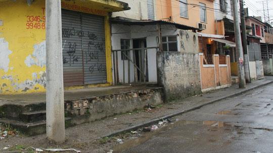 Eine Straße, wie Millionen andere in Rio de Janeiro
