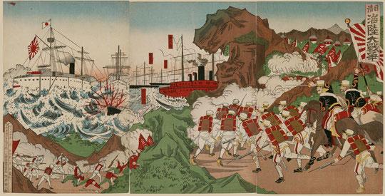 8日清海陸大戦争