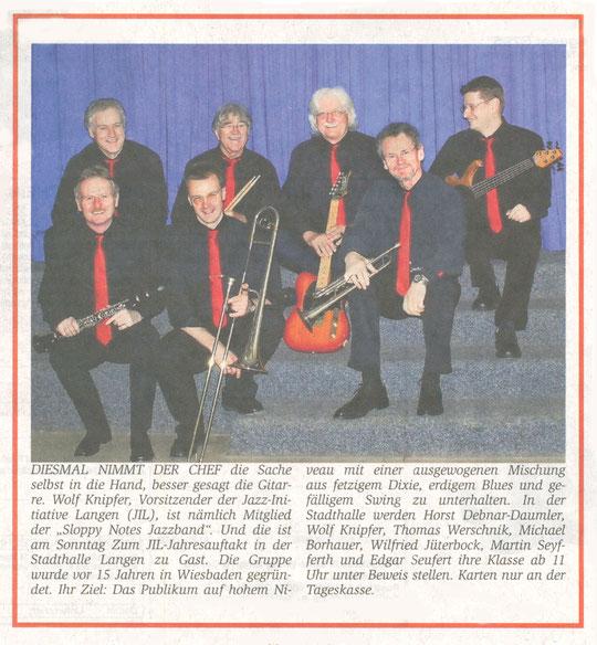 Offenbach Post, Januar 2011