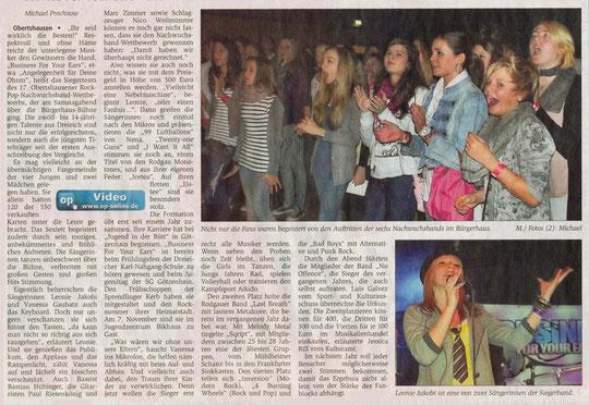 Offenbach Post, 25. Oktober 2010