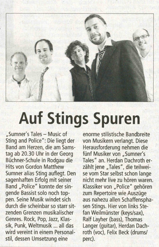 Offenbach Post, 15. September 2012