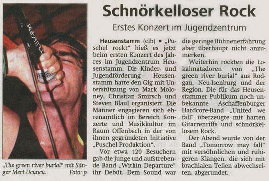 Offenbach Post, 30. März 2011