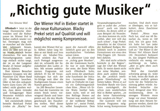 Offenbach Post, 28.09.2010