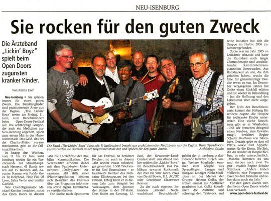 Offenbach Post, 28. Mai 2010