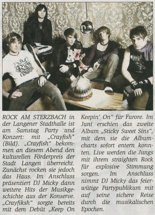 Offenbach Post, 20. November 2010