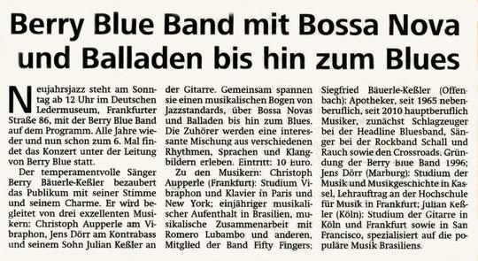Offenbach Post, 14. Januar 2011