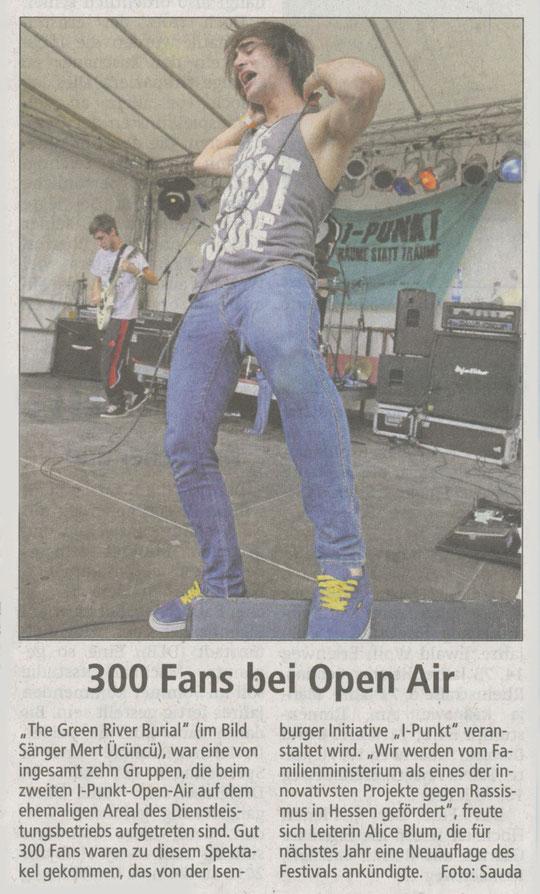 Artikel Offenbach Post, 2. Juni 2011