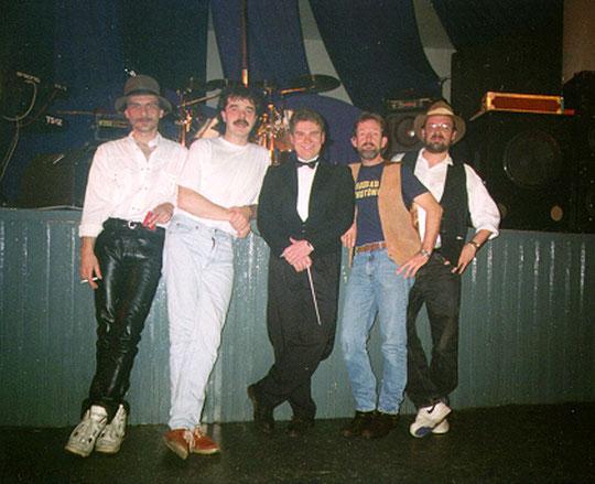 v.l.n.r.: Werner Liebner (b), Ali Brehm (dr), Jens Blecker (key), Neil Bresnahan (voc), Thomas Ortwein (g)