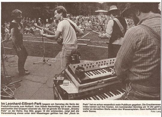 Artikel der Ofenbach-Post aus dem Jahr 1986