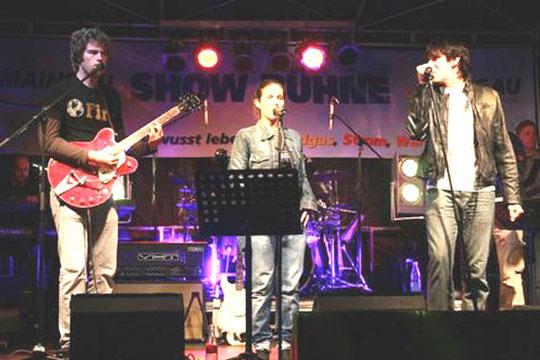 Groove Agents beim Burning Rock Festival im Waldschwimmbad Dietzenbach 2010