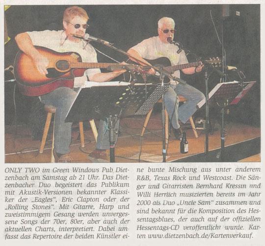 Offenbach Post, 19. Februar 2011