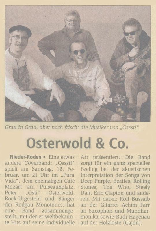 Offenbach Post, 11. Februar 2011