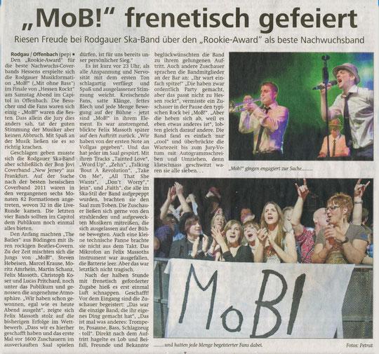 Offenbach Post, 28. März 2011