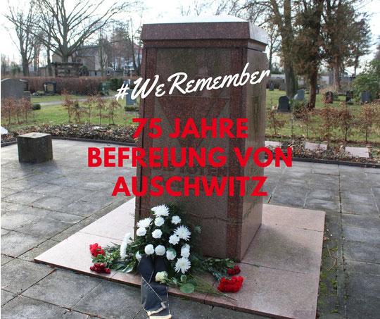Gedenken an die Opfer des Nationalsozialismus am 27.01.20