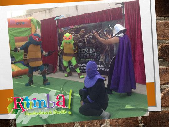 Tortugas Ninja Vs Destructor