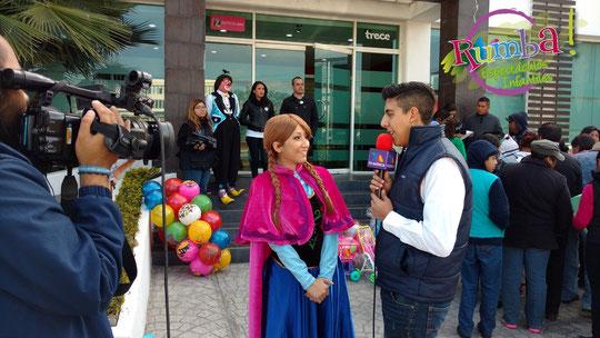 Ana desde Arendell con mucho éxito en la ciudad de Querétaro.