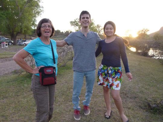 avec Luis Henrique et Yolanda