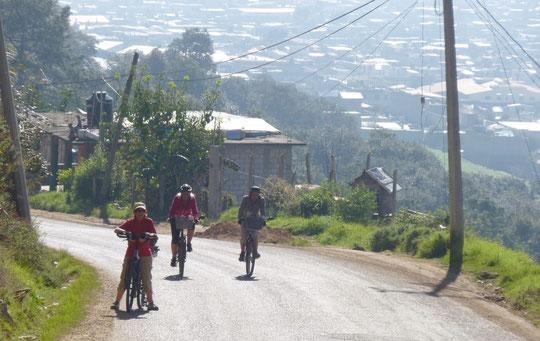 sur la route de San Juan de Chamula