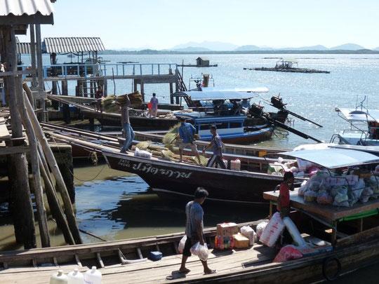 L'embarcadère de Ban Laem Krut