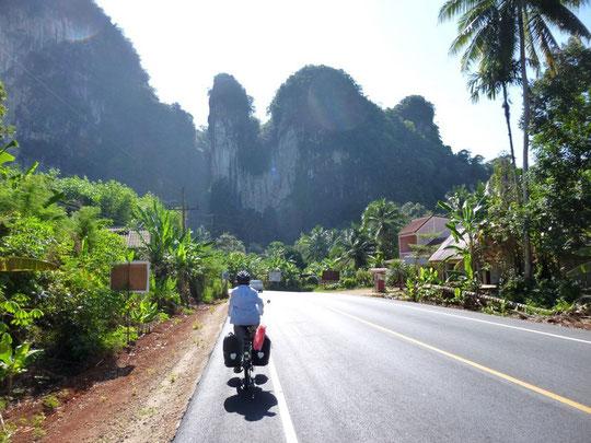 Sur la route de Krabi