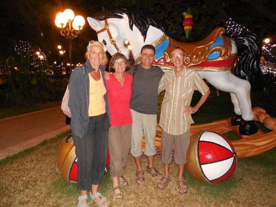 A Campeche avec Josée et Jean Robert