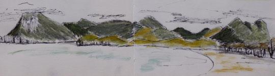 La baie d'Ao Manao, Prachuap, par Frédérique