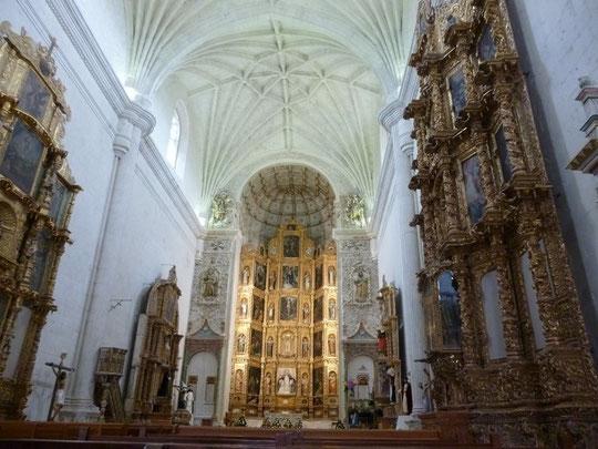 Yanhuitlan, intérieur de l'église
