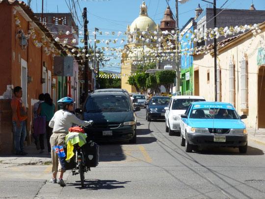 Arrivée à Huajuapan de Leon