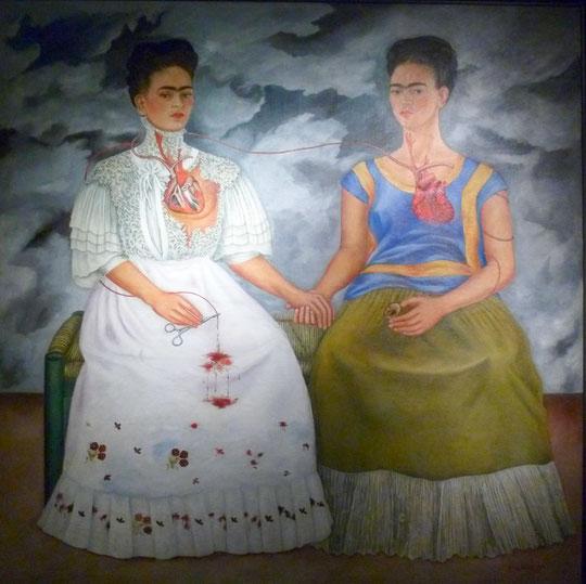 Les deux Frida, par Frida Kahlo