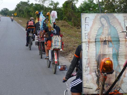 les pèlerins de la Guadalupe