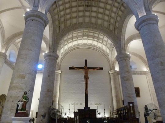 dans la cathédrale de Mérida