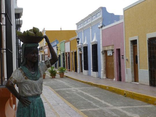 une rue de Campeche