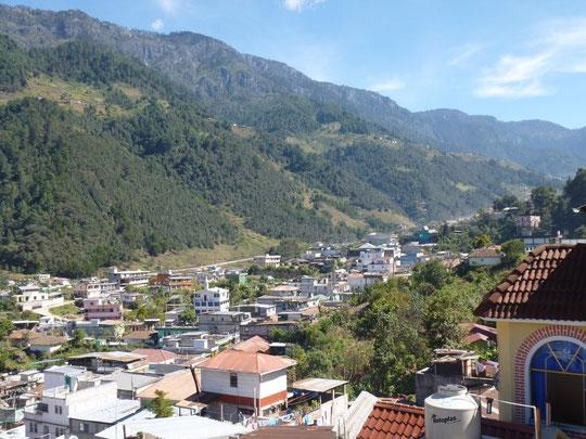 Le village de Todos Santos à 2 400 m d'altitude