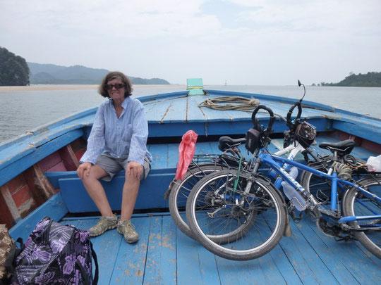 Sur le bateau pour Ko Yao Noï
