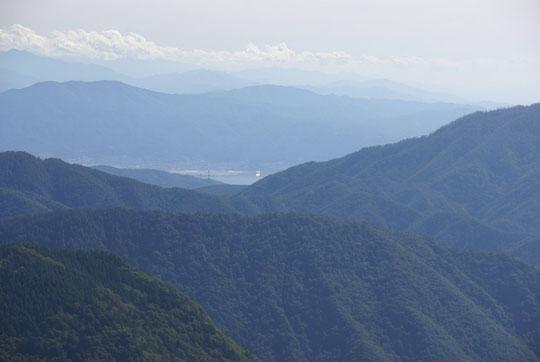 美ヶ原から諏訪湖・赤石山脈方面