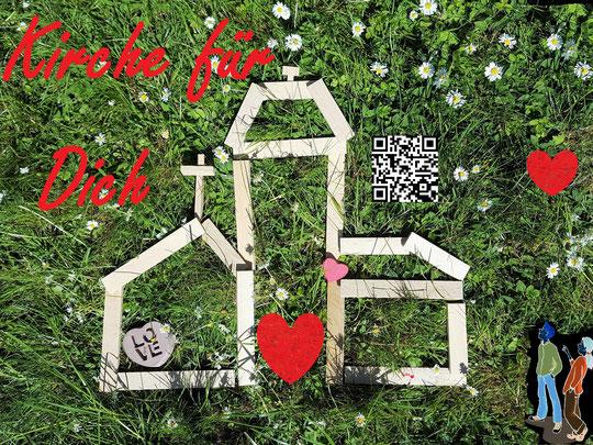 Foto und Gestaltung: Sylvia Ehrhoff-Bering, Grafik Jugendliche (re): medio.tv/Reinhild Kassing