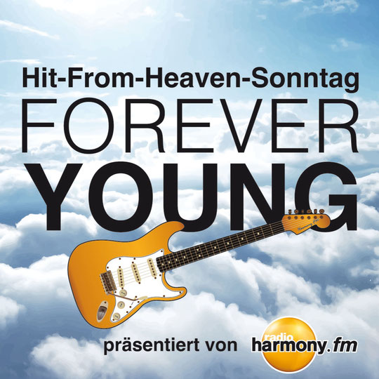 "Grafik zum Hit-From-Heaven-Sonntag 2015, Song ""Forever Young"" von Alphaville"