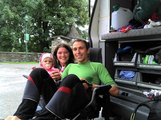 Nochmal ein Familienbesuch in Mandling