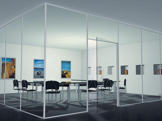 Büroabtrennung / Besprechungsraum