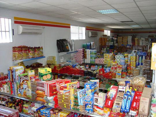 """Supermercado """"HNOS. RUIZ"""" en Mesas del Guadalora."""