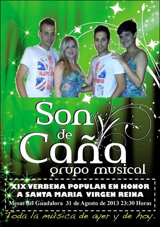 "Cartel ""XIX VERBENA POPULAR"" en Mesas del Guadalora. - Haz ""clic"" en la imagen para ampliar."