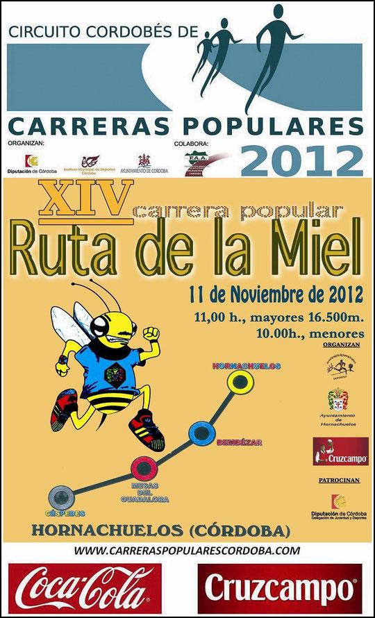 """XIV CARRERA POPULAR """"RUTA DE LA MIEL"""" - (11 de Noviembre de 2012) - Haz """"clic"""" en la imagen para ampliar."""