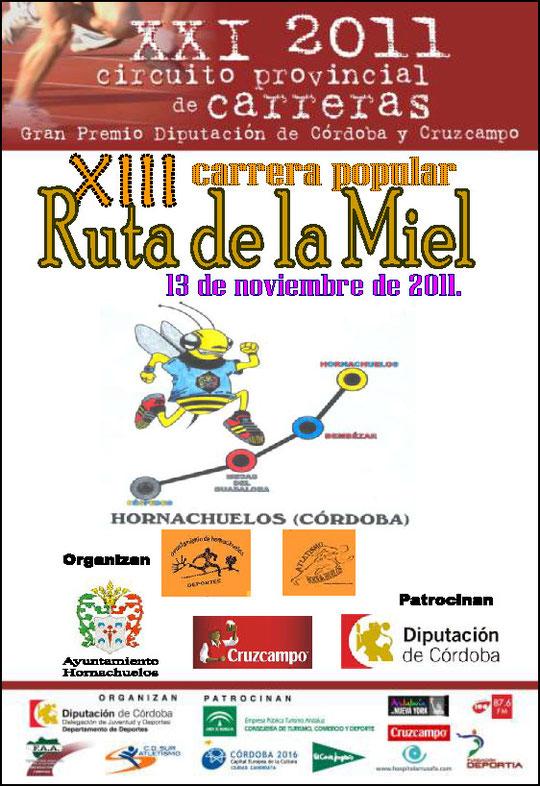 "XIII CARRERA POPULAR ""RUTA DE LA MIEL"" - (13 de Noviembre de 2011) - Haz ""clic"" en la imagen para ampliar."
