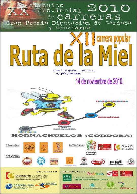 "XII CARRERA POPULAR ""RUTA DE LA MIEL"" - (14 de Noviembre de 2010) - Haz ""clic"" en la imagen para ampliar."