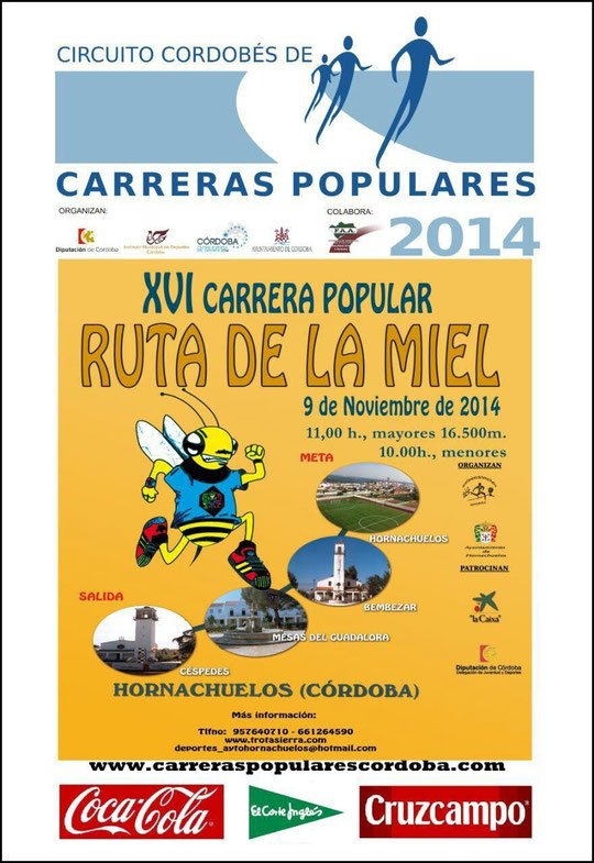 "XVI CARRERA POPULAR ""RUTA DE LA MIEL"" - (09 de Noviembre de 2014) - Haz ""clic"" en la imagen para ampliar."