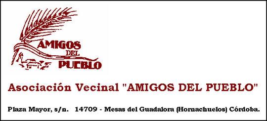 """ASOCIACIÓN VECINAL """"AMIGOS DEL PUEBLO"""". - Haz """"clic"""" en la imagen para ampliar."""