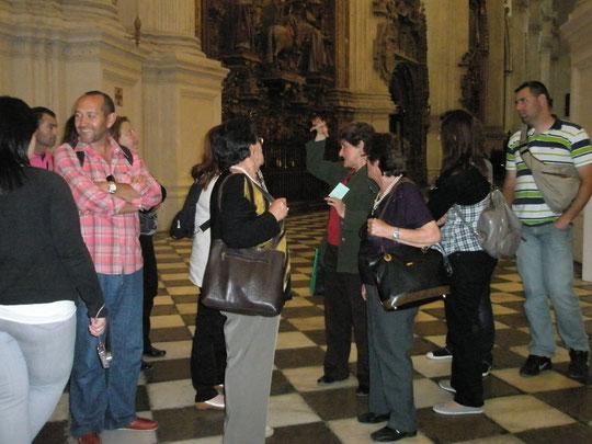 Viaje Socio-Cultural a GRANADA (25 de Abril de 2010)