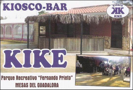 "KIOSCO-BAR ""KIKE"" en Mesas del Guadalora (Córdoba)"